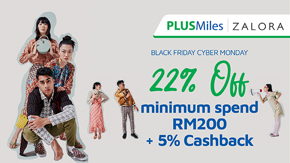 ZALORA : Black Friday Cyber Monday